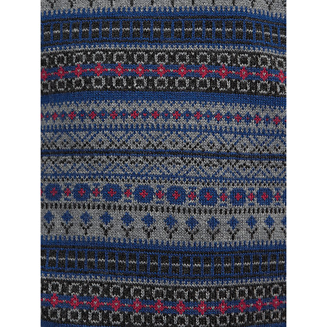 Buy John Lewis Heirloom Collection Fair Isle Tank Top Jumper, Blue/Multi Online at johnlewis.com