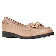 Buy KG by Kurt Geiger Lorna Loafers, Camel Online at johnlewis.com
