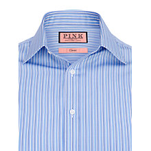 Buy Thomas Pink Fytche Stripe Shirt, Blue/White Online at johnlewis.com