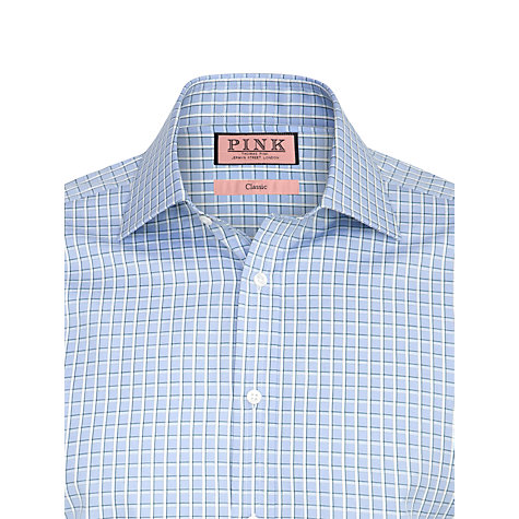 Buy Thomas Pink XL Sleeves Davey Check Shirt Online at johnlewis.com