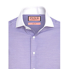Buy Thomas Pink Godshill Stripe Long Sleeve Shirt Online at johnlewis.com