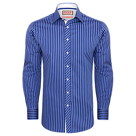 Buy Thomas Pink Bower Stripe Long Sleeve Shirt Online at johnlewis.com