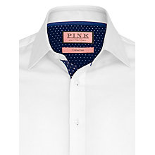 Buy Thomas Pink Macquaire Plain Long Sleeve Shirt Online at johnlewis.com