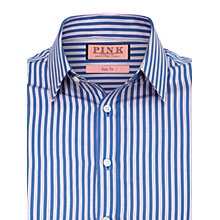 Buy Thomas Pink Shute Stripe Long Sleeve Shirt Online at johnlewis.com