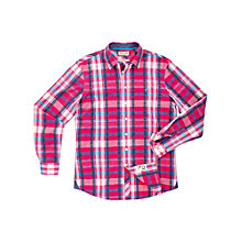Buy Thomas Pink Judd Check Long Sleeve Shirt Online at johnlewis.com