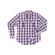 Buy Thomas Pink Leet Check Long Sleeve Shirt Online at johnlewis.com