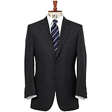 Buy Chester Barrie Savile Row Hopsack Suit Jacket, Navy Online at johnlewis.com