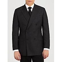 Buy Chester Barrie Savile Row Hopsack Suit, Navy Online at johnlewis.com