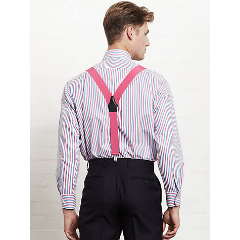 Buy Thomas Pink XL Sleeve Gatacre Stripe Shirt Online at johnlewis.com