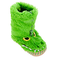 Buy Hatley Gator Slippers, Green Online at johnlewis.com