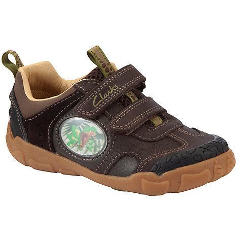 Buy Clarks Stomp Jaw Shoes, Brown Online at johnlewis.com