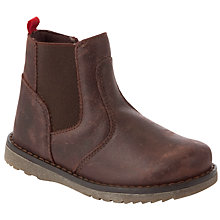 Buy John Lewis Boy Chelsea Boots, Brown Online at johnlewis.com