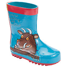 Buy Gruffalo Wellington Boots, Blue/Multi Online at johnlewis.com