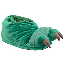 Buy John Lewis Crocodile Claw Slippers, Green Online at johnlewis.com