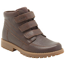 Buy Clarks Diggy Ray Boots, Brown Online at johnlewis.com