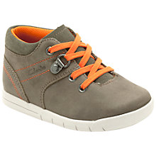 Buy Clarks Crazy Crew Shoes, Khaki Online at johnlewis.com