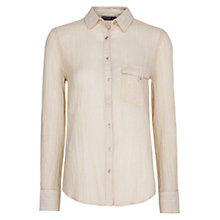 Buy Mango Cotton Striped Shirt Online at johnlewis.com