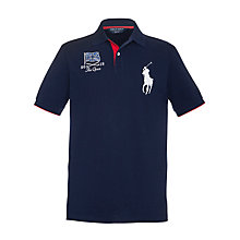Buy Polo Golf by Ralph Lauren Slim Fit The Open Polo Shirt Online at johnlewis.com