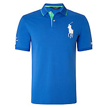 Buy Polo Golf by Ralph Lauren The Open Championship Big Pony Polo Shirt Online at johnlewis.com