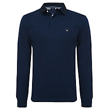 Buy Gant Rugger Solid Heavy Long Sleeve Top Online at johnlewis.com