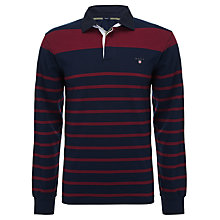 Buy Gant Stripe Rugby Shirt Online at johnlewis.com