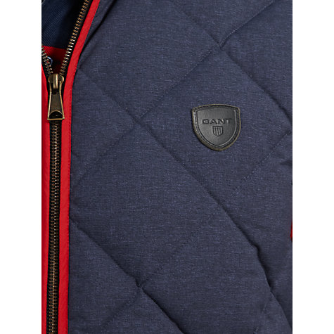 Buy Gant The Saint Germain Quilted Gilet Online at johnlewis.com