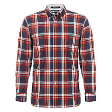 Buy Gant Manhattan Poplin Check Shirt Online at johnlewis.com