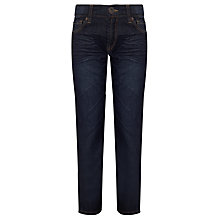 Buy Levi's 504 Regular Fit Jeans, Dark Denim Online at johnlewis.com