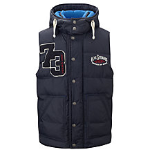 Buy Levi's Boys' Volver Gilet, Navy Online at johnlewis.com