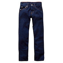Buy Levi's 501 Boys' Original Denim Jeans, Blue Online at johnlewis.com