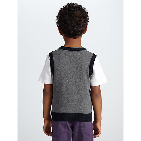 Buy John Lewis Boy Fair Isle Tank Top, Blue Online at johnlewis.com