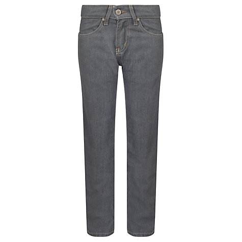 Buy Levi's 511 Boys' Slim Fit Denim Jeans, Grey Online at johnlewis.com