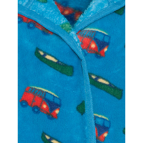Buy John Lewis Boy Camper Van Robe, Blue/Multi Online at johnlewis.com