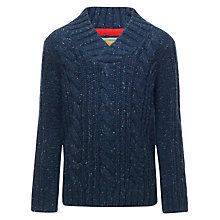 Buy John Lewis Boy Shawl Neck Jumper Online at johnlewis.com