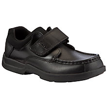 Buy Clarks Corbett Shoes, Black Online at johnlewis.com