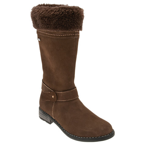 Buy Start-rite Aqua Shearling Boots, Brown Online at johnlewis.com