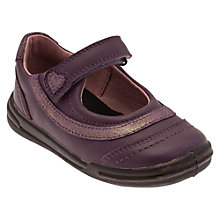 Buy Start-rite Flexi Soft Feather Shoes, Purple Online at johnlewis.com