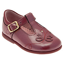 Buy Start-rite Pixie Shoes, Dark Red Online at johnlewis.com