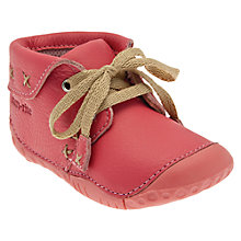 Buy Start-rite Home Spun Shoes, Pink Online at johnlewis.com