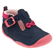 Buy Start-rite May Shoes, Navy/Pink Online at johnlewis.com