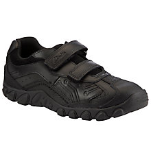 Buy Clarks Jack Shine Shoes, Black Online at johnlewis.com