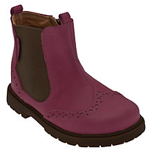 Buy Start-rite Chelsea Suede Ankle Boots, Purple Online at johnlewis.com