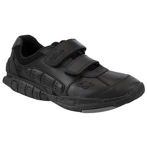Buy Clarks Orbiter Shoes, Black Online at johnlewis.com