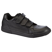 Buy Clarks Stockton Shoes, Black Online at johnlewis.com