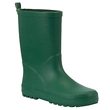 Buy John Lewis Wellington Boots, Green Online at johnlewis.com