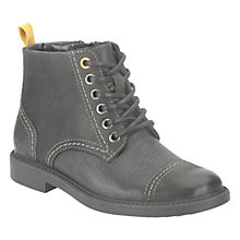 Buy Clarks Zayne Smooth Boots, Black Online at johnlewis.com