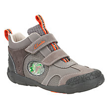Buy Clarks Stompo It Boots, Grey Online at johnlewis.com