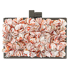 Buy Reiss Flower Cut Clutch Handbag, Multi Online at johnlewis.com