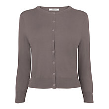 Buy L.K. Bennett Betty Cardigan, Quartz Online at johnlewis.com
