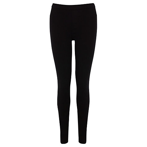 Buy Oasis Jessie Jeggings, Black Online at johnlewis.com